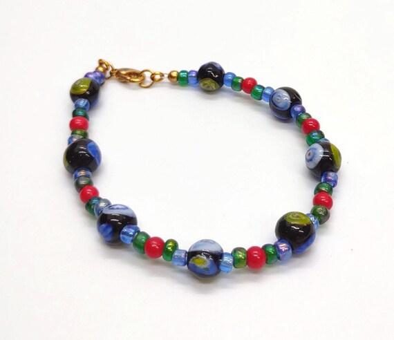 B-1619 Blue Bracelet