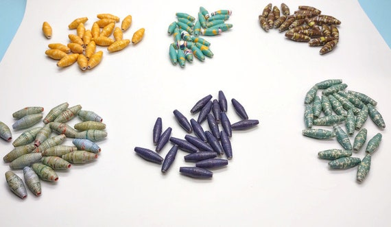 Paper beads 22 count