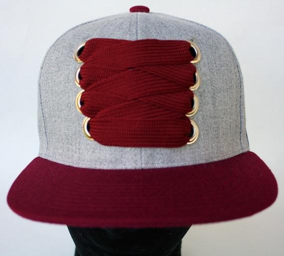 cc6855a2470 The Solidarity fat laces flat brim custom snapback cap. Hip