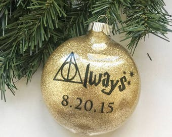 Harry Potter Always Ornament//Always Ornament//Harry Potter Anniversary Ornament