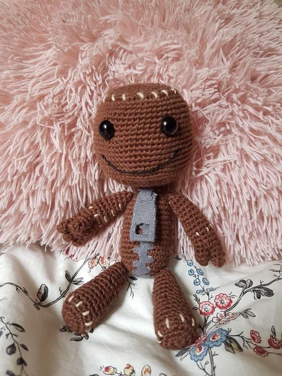 Sackboy Amigurumi Crochet Doll PDF Pattern | Etsy