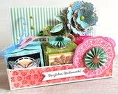 Geldgeschenk - Gutscheinverpackung - Geschenkkorb