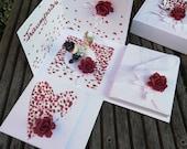 Hochzeits-Box - Geschenkbox - Geldgeschenk - Explosionsbox