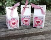 Mini-Geschenkschachtel/Mitbringseln in Milchbox-Design/Gastgeschenk
