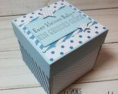 Baby-Box - Geschenkbox - Geldgeschenk - Explosionsbox