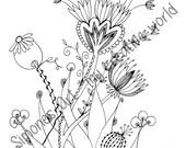 Flower Meadow 7 - Adult c...