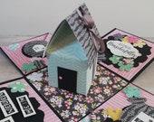 Umzugs-/Hauseinweihungs-Box - Geschenkbox - Geldgeschenk - Explosionsbox