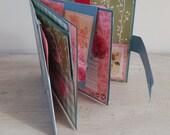 Scrapbook Fotoalbum / Erinngerungsbuch / Reisetagebuch / Junkjournal