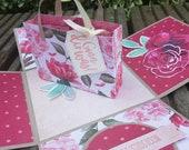 Geburtstags-Box Geburtstag - Geschenkbox - Geldgeschenk - Explosionsbox