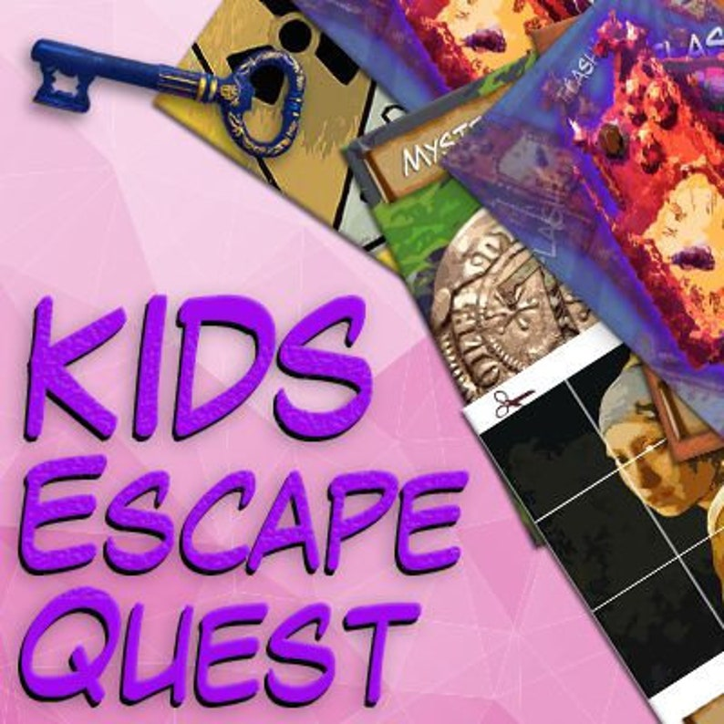 This is a graphic of Influential Free Printable Escape Room Kit
