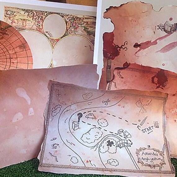 15 para imprimir piratas tesoro mapa plantillas