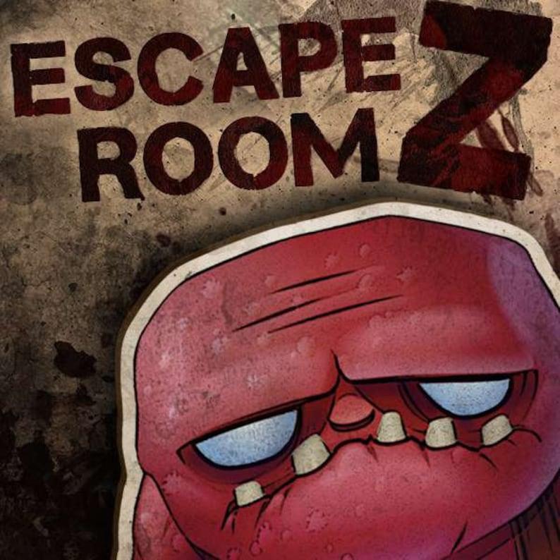 photo about Printable Escape Room identify Escape Space Z Printable Escape Place Package