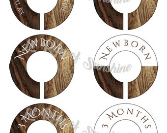 853M: My day starts with awesome attire Baby Closet Dividers