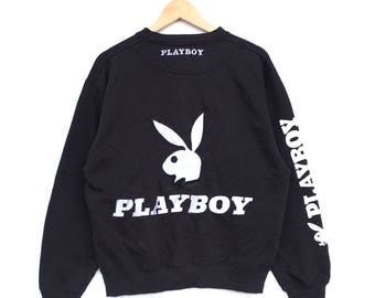 Playboy Bunny V-Neck Less Sleeve Tshirt Big Logo SpellOut Embroidere Multicolour Pullover Sportswear Activewear Streetwear Wdd4wEdRC