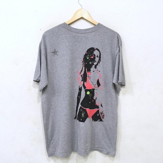 NEXUS 7 Multilple Maniax Japananese marque Tee Sexy Tshirt Sexy Tee Ladies Streetwear gris couleur 6ea04f