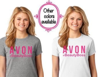 Avon T-Shirt, Avon Swag, Avon Shirt, Shirt, Avon, Avon Lady, Avon Clothing, Avon, G420