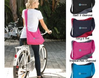 Embroidered Nerium Canvas Sling Bag, Nerium Sling Bag, Nerium Bag, Nerium Tote, Nerium Product, Nerium Swag, Nerium