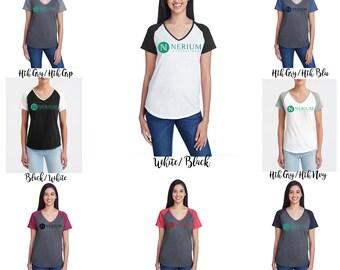 Glitter Nerium Raglan Sleeve Shirt, Nerium Shirt,  Nerium accessories