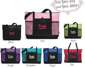 Perfectly Posh Tote Bag, Posh bag, Posh swag, Posh Totebag
