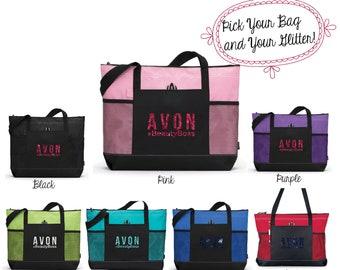 Avon Totebag, Avon Tote, Avon Bag, Avon Swag, Avon, Avon Accessories, Avon Lady, Avon Swag, 1100
