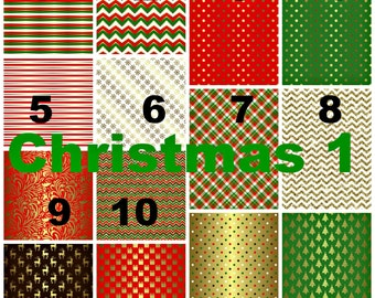 Printed Vinyl, Christmas 1, Pattern Vinyl, Adhesive Outdoor 651 Vinyl, HTV, Heat Transfer Vinyl, Iron On, Design Vinyl, Christmas, Holiday