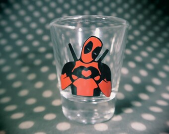 Deadpool shot glass!