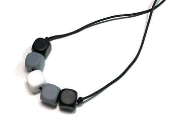 Chew Necklace / Sensory Necklace / Silicone Teething Necklace / Autism / Sensory Processing Disorder / Chewie / Chewlery / Toddler