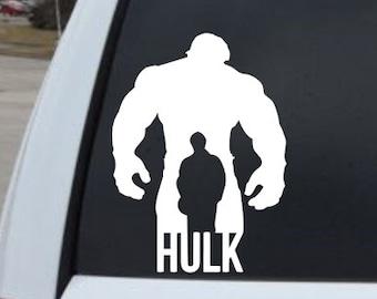Marvel Avengers Hulk Decal