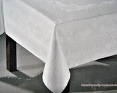 Vintage new white tablecl...