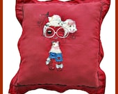 Decorative Red Pillow, 42...