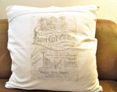 Pillow Cover vintage shab...
