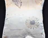 """4 pieces 70s pillow cases with flower motif, 40 x 40 cm, approx. 15.8x15.8"""", easy-care pillowcases,"""