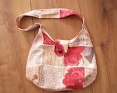 Small fabric bag with ros...
