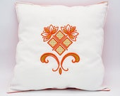 Pillow with embroidery, c...