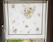 """Vintage Scheibengardine, Landhausgardine, about h69xb70cm, h27x27.5b, """"curtain, unique,"""
