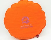 round yoga pillow with lo...