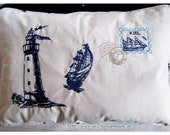 Maritime cuddle pillow fo...