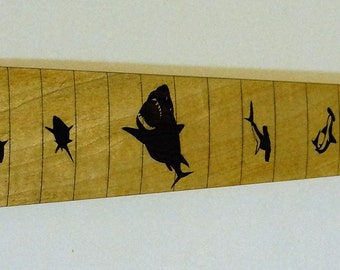 Shark Electric Guitar Fretboard