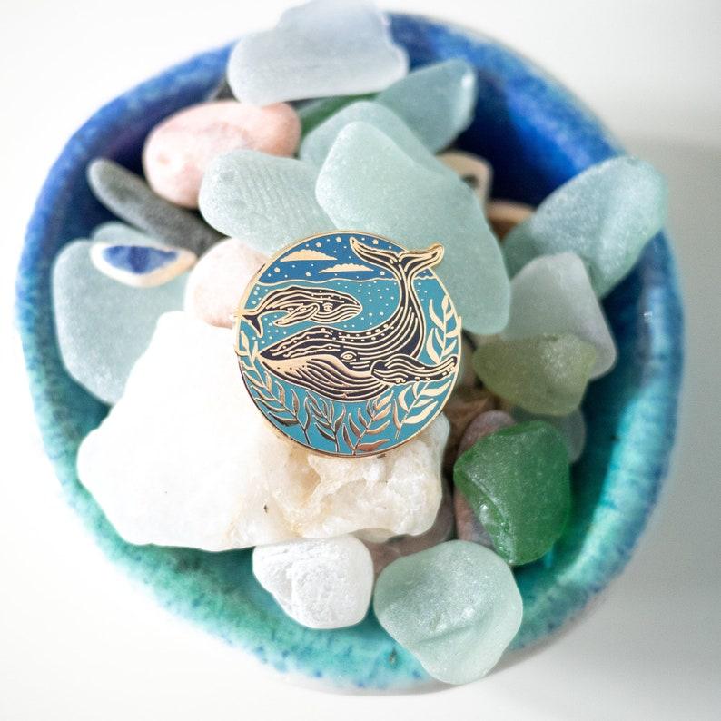 Decorative Whale Pin