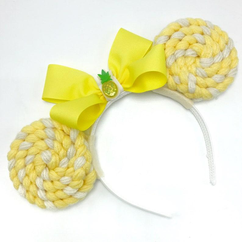 Dole Whip Minnie Mouse Ears Headband  Mickey Ears  Mouse image 0