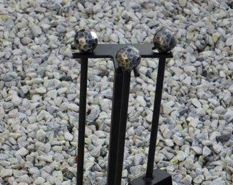 Handmade Wrought Iron Fire Companion set