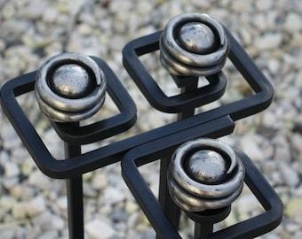 Handmade Wrought Iron companion set