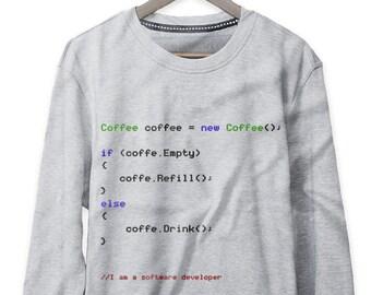 a16bbdc9 Programmer Sweatshirt Funny coding sweatshirt Software Programmer  Sweatshirt Software Engineer Sweatshirt Software Designer Sweater