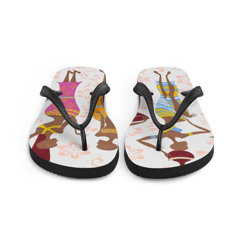 Sisi Gorimampa Volume III cultural african art Fun and durable flip flops with unique Nigerian art design