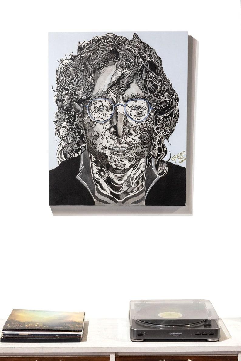 Imagineer  Print portrait of John Lennon image 0