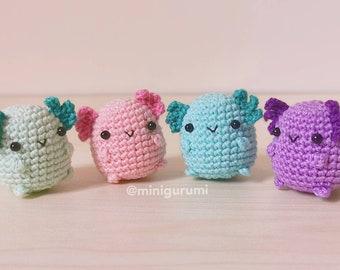 Crochet Pattern -  Baby Axolotl Amigurumi