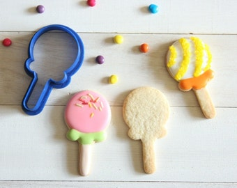 Lolipop cookie cutter