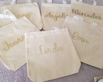 Small Canvas Tote Bag