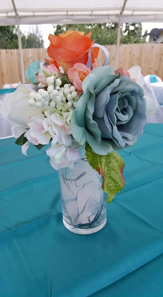 Wedding Flower Light Up Vase Centerpieces Etsy