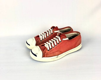 3e4e25a899b2 Vintage JACK PURCELL Low-Cut Red 90s Brand Shoe USA